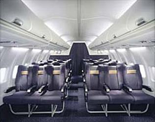Jet7air la flotte avions passagers for Interieur 737